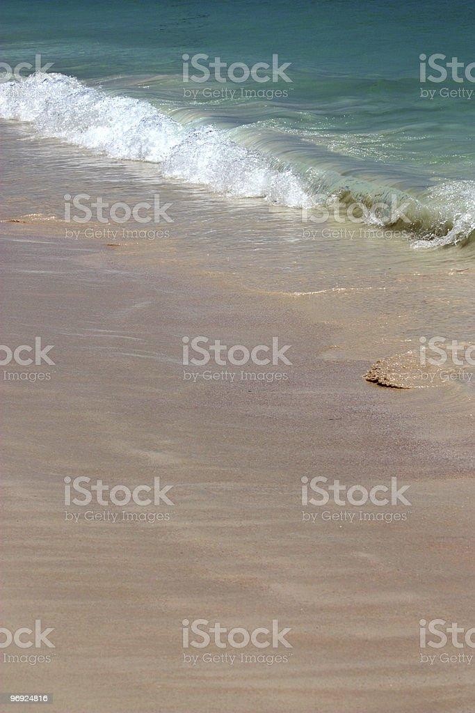 Tropical Beach Dominican Republic royalty-free stock photo