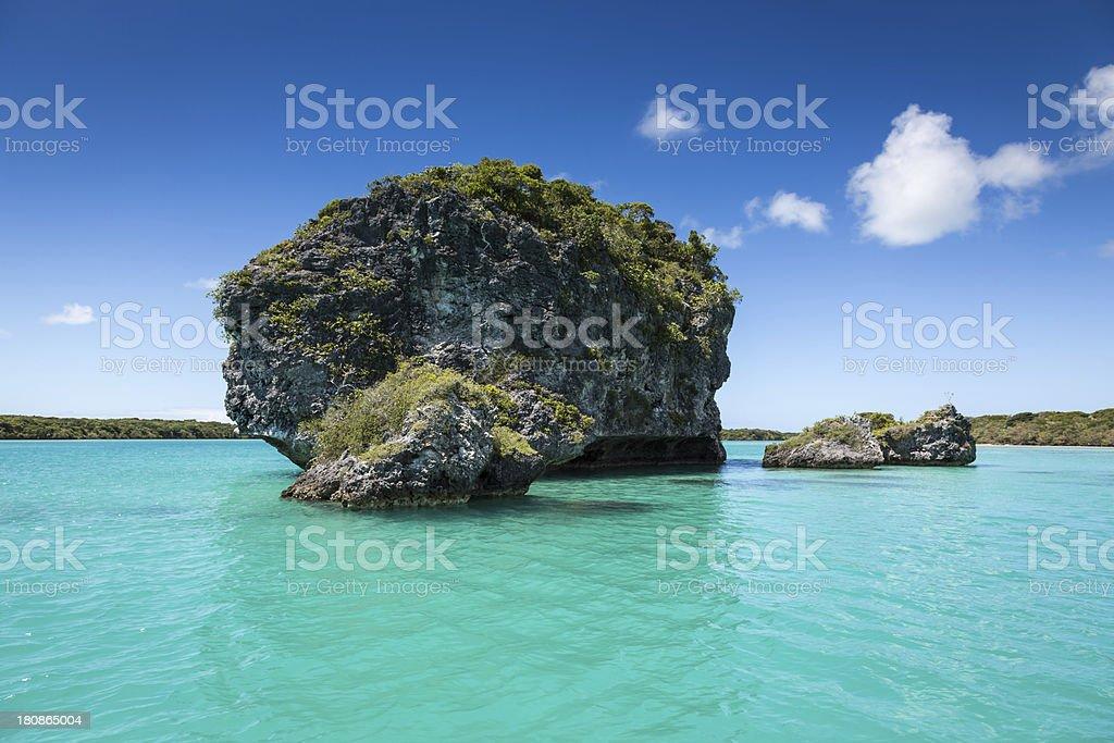 Tropical Beach Paradise royalty-free stock photo