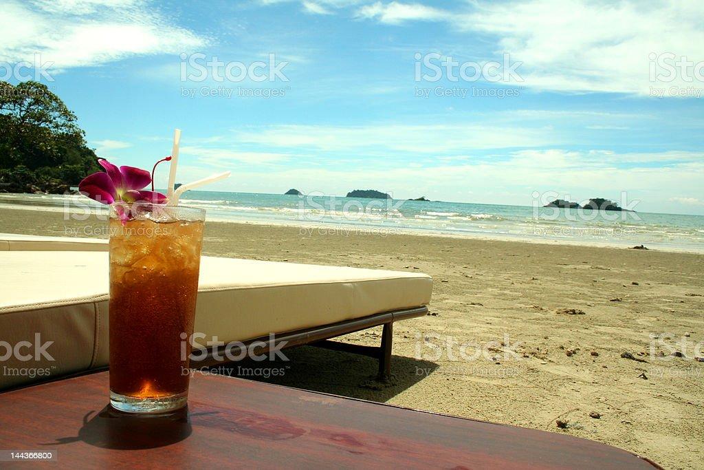 Tropical beach (series) royalty-free stock photo