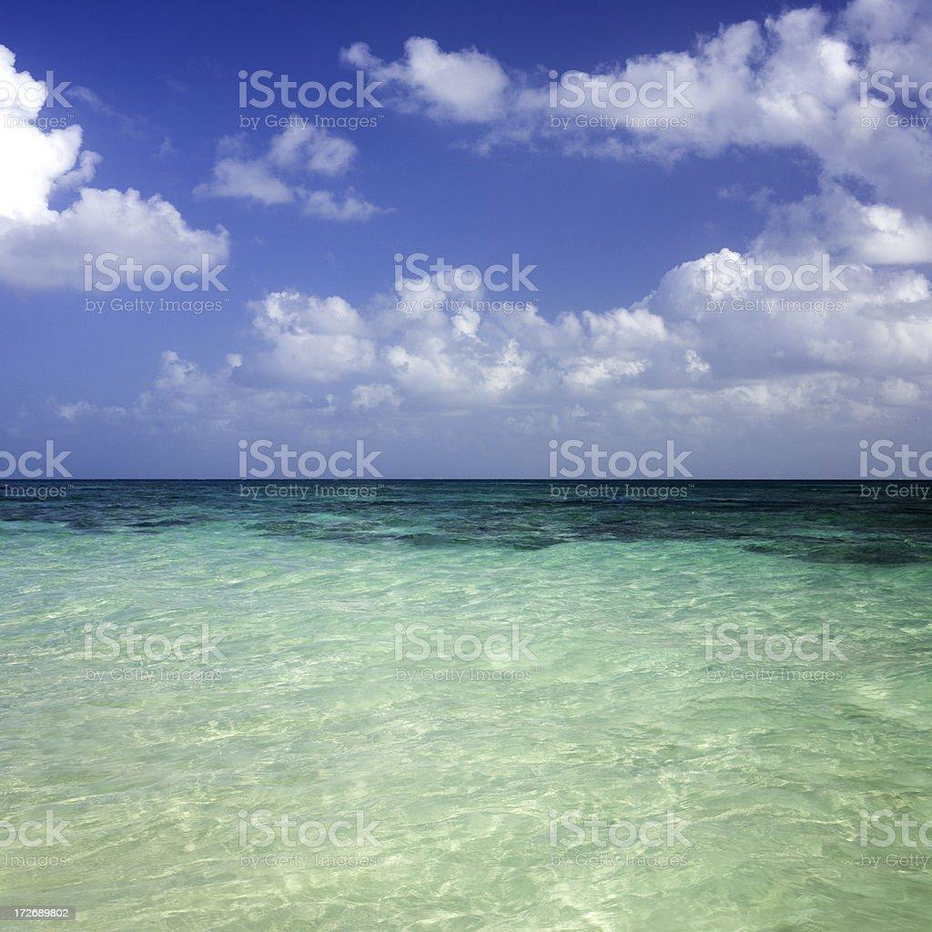 Tropical Beach (XXL) royalty-free stock photo