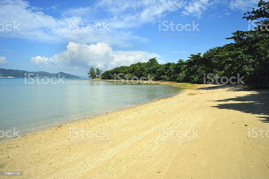Tropical Beach royalty-free stock photo