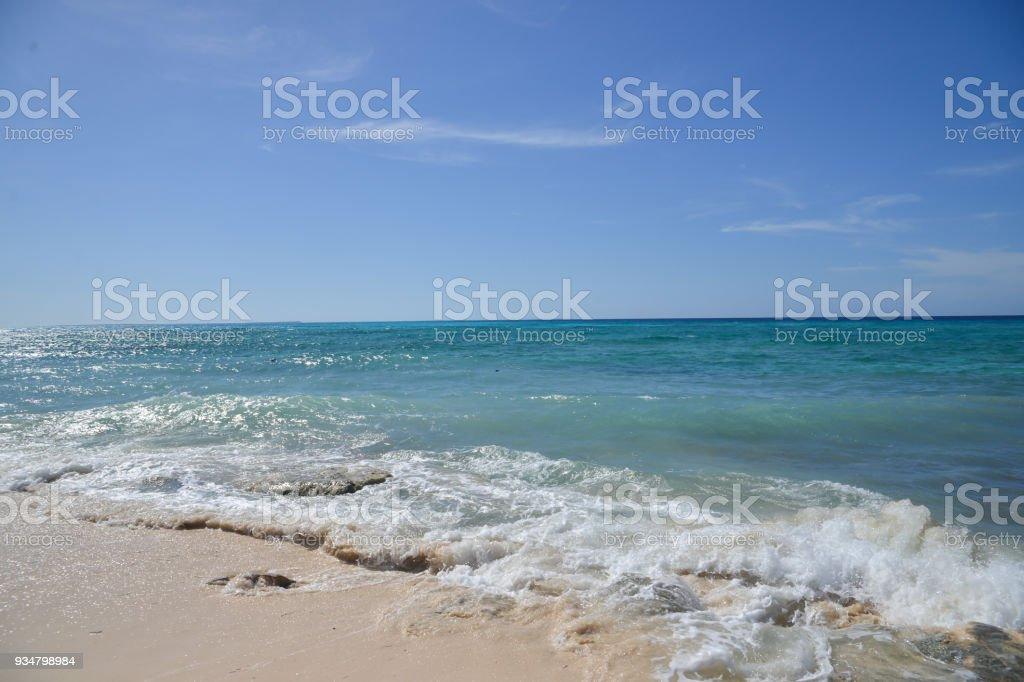 열대 해변 - 로열티 프리 0명 스톡 사진