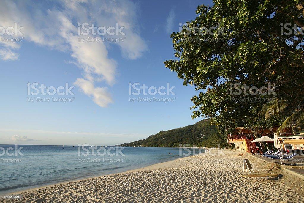 Tropical Plaża zbiór zdjęć royalty-free