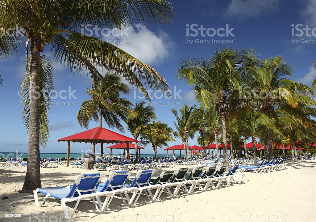 Tropical spiaggia foto stock royalty-free