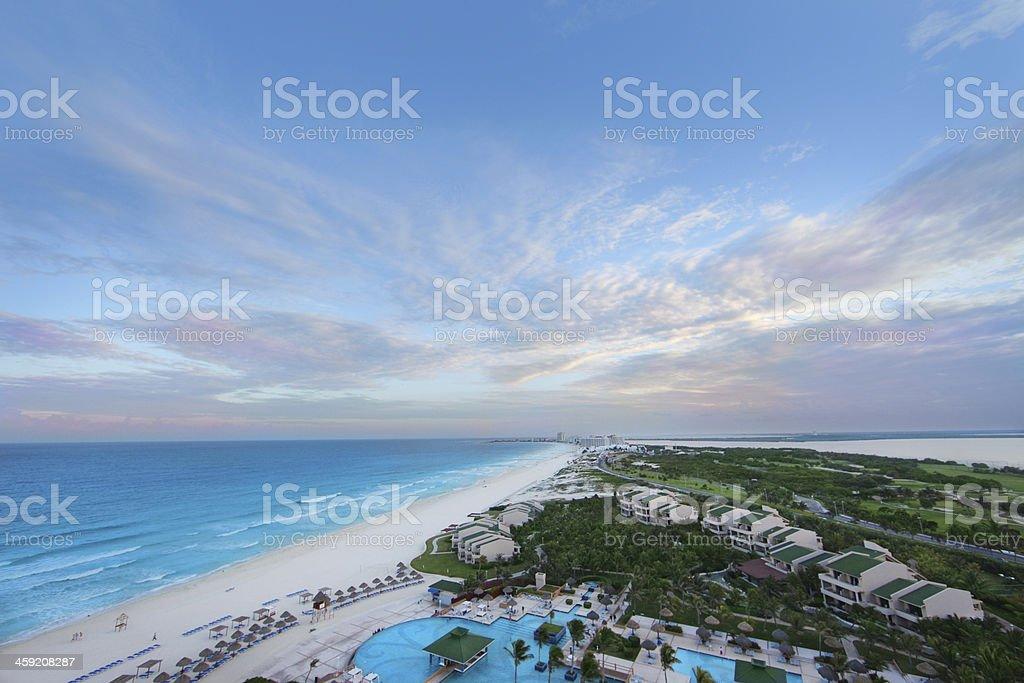 Tropical Beach Resort stock photo