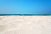 Tropical beach sand dune background