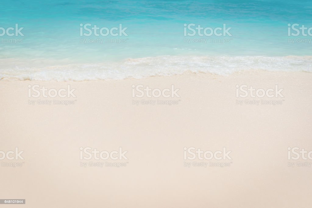 Tropical beach Sea, Sand and summer day stock photo
