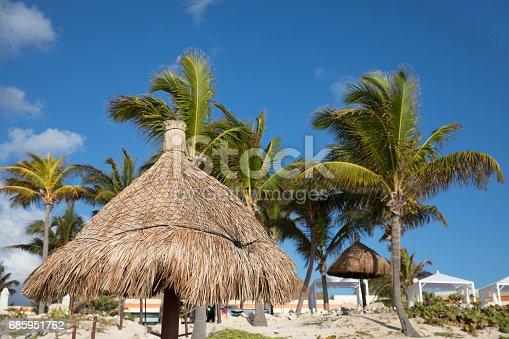 istock Tropical beachfront. 685951762