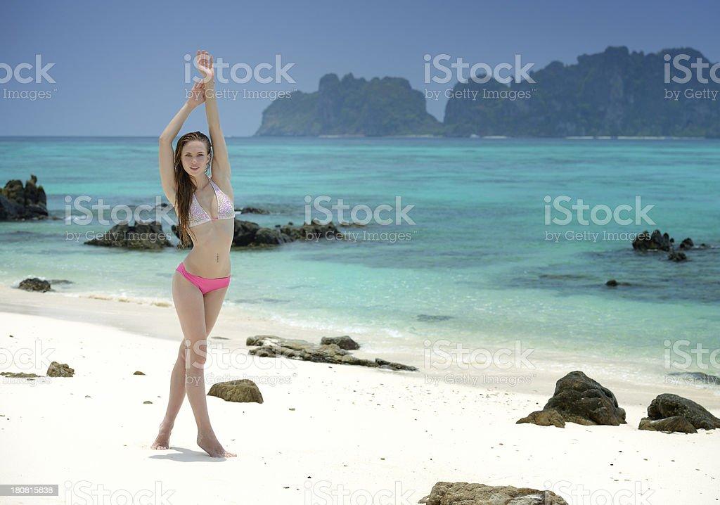 Tropical Beauty stock photo