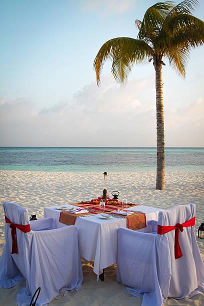 Tropical Candle Light Dinner on the Beach