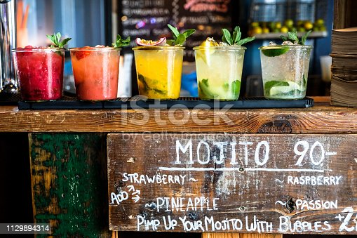 ´drinks at the bar counter