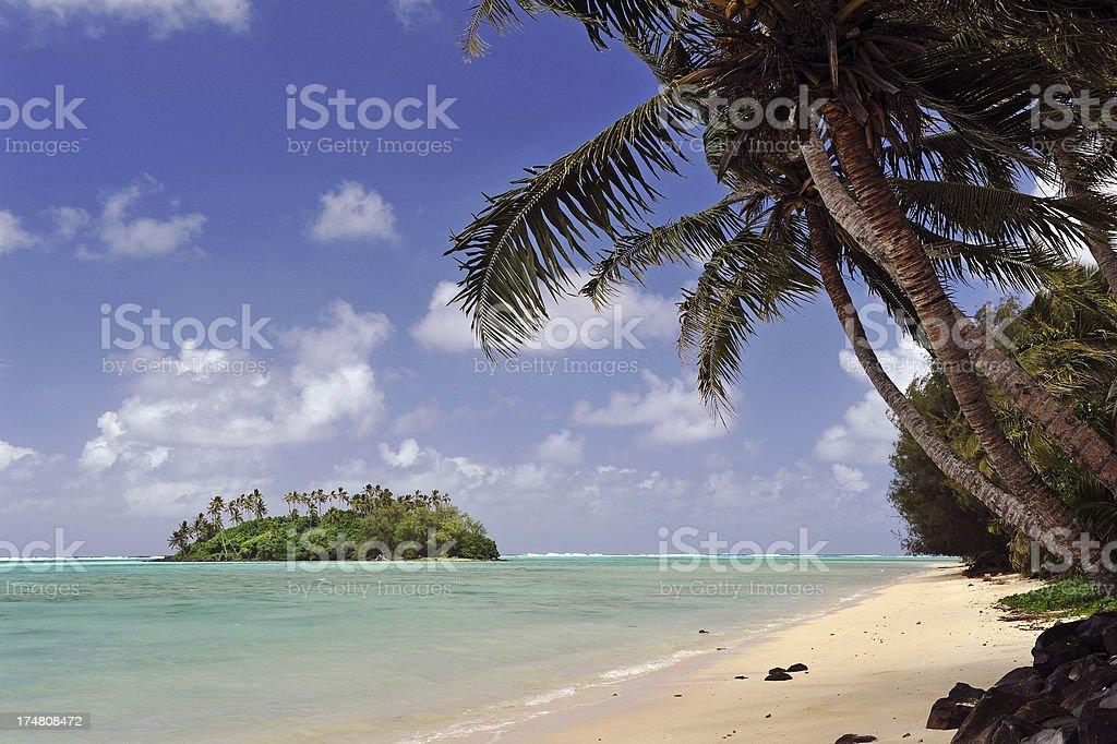 Tropical Desert Island royalty-free stock photo