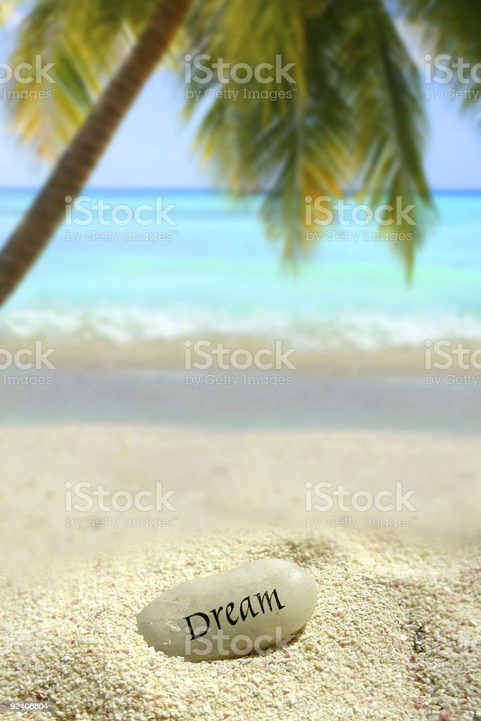 tropical dreaming stock photo