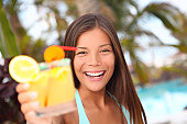istock tropical drink woman 152126126