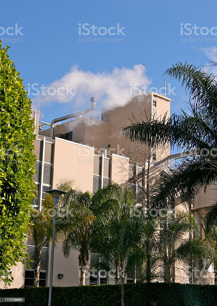 Tropical Factory royalty-free stock photo