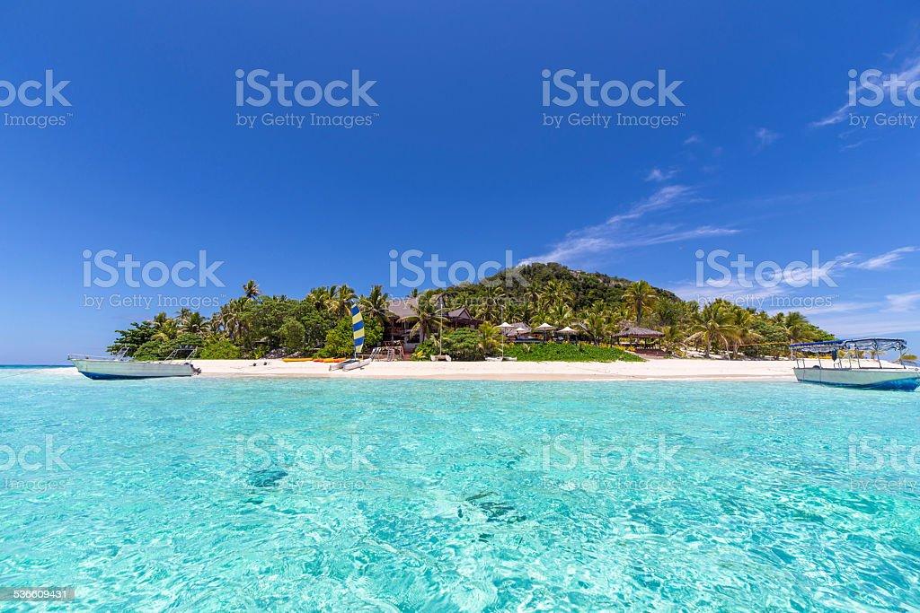 Tropical Fiji. royalty-free stock photo