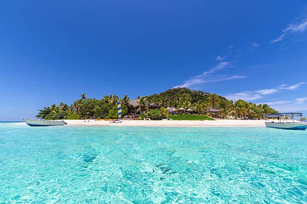 Tropical Fiji. stock photo