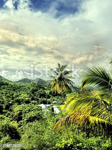 Outskirts of St. George, Grenada.