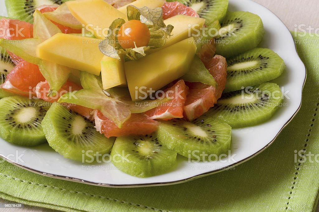 Tropical Fruit Salad royalty-free stock photo