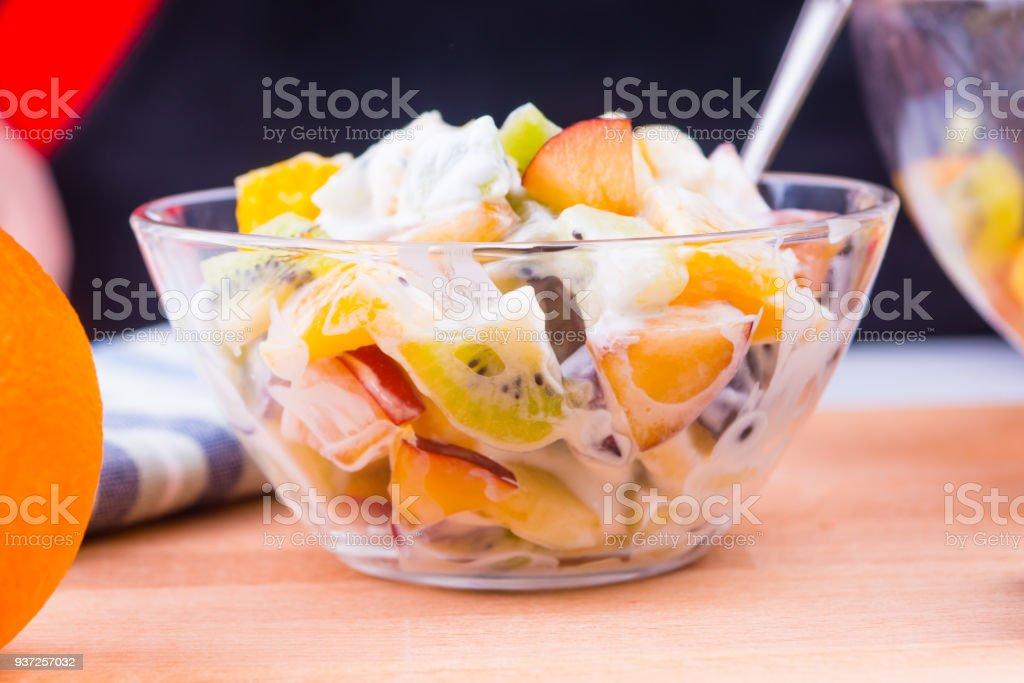 Dieta yogurt y frutas