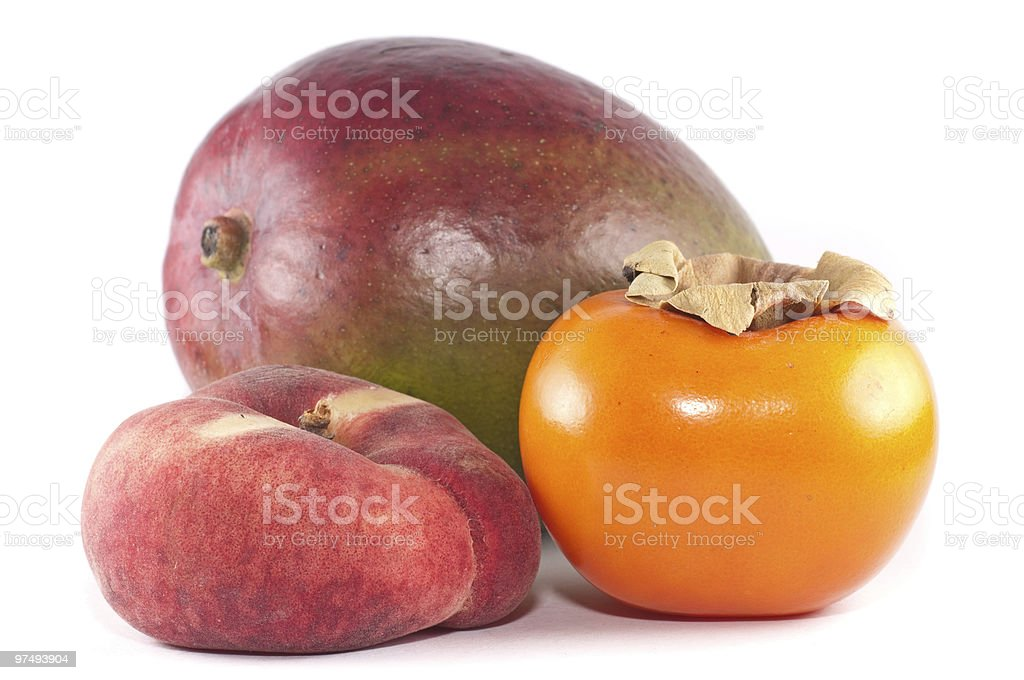 Tropical fruits royalty-free stock photo