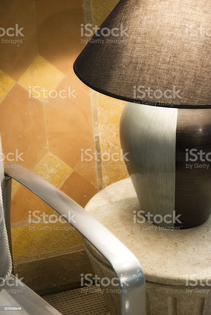 Tropical Furniture Arrangement royalty-free stock photo