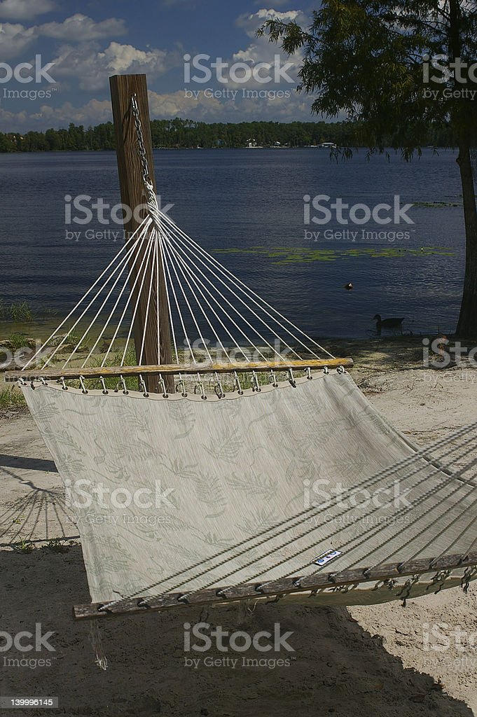 Tropical Hammock royalty-free stock photo
