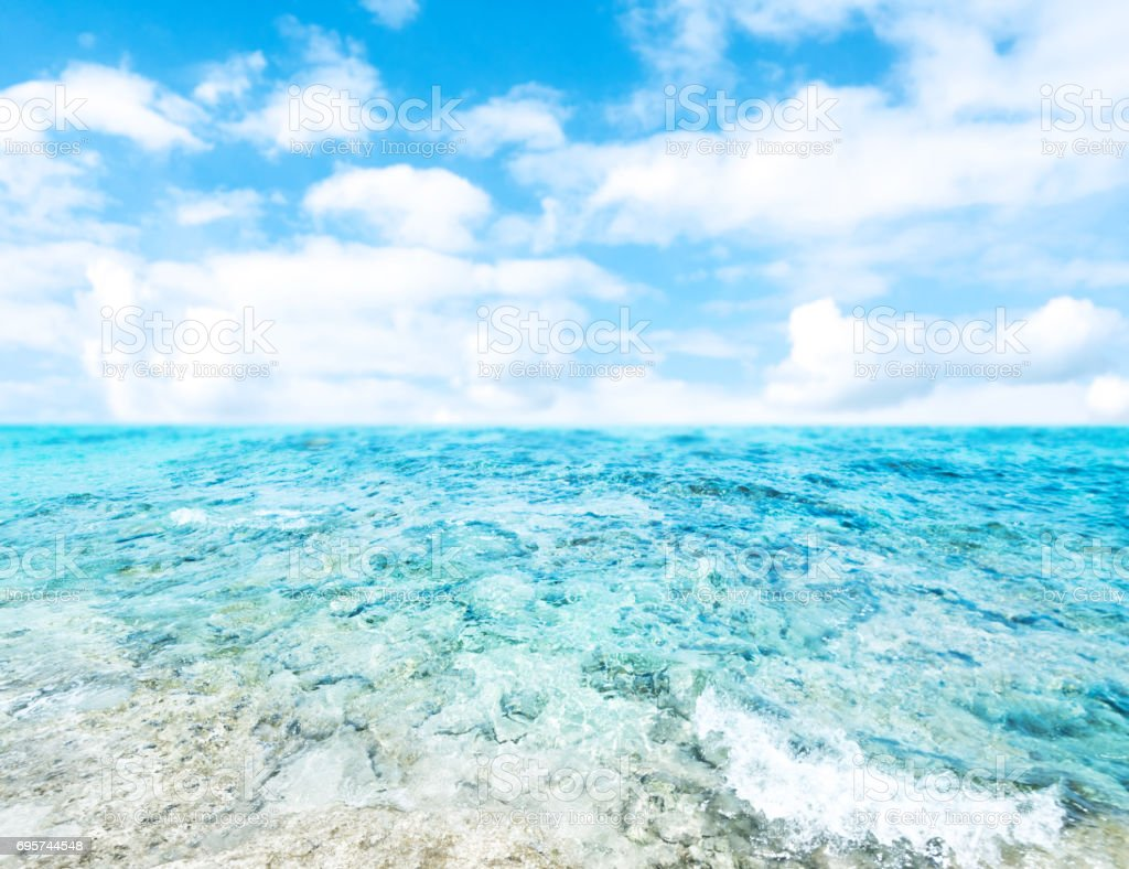 Tropical Holiday Background - Beautiful  summer vacation and business travel concept wallpaper stock photo