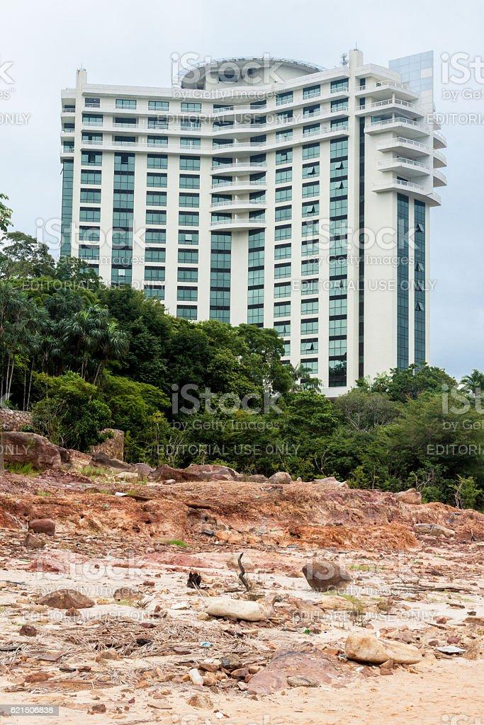Tropical Hotel Punta Negra Manaus foto stock royalty-free