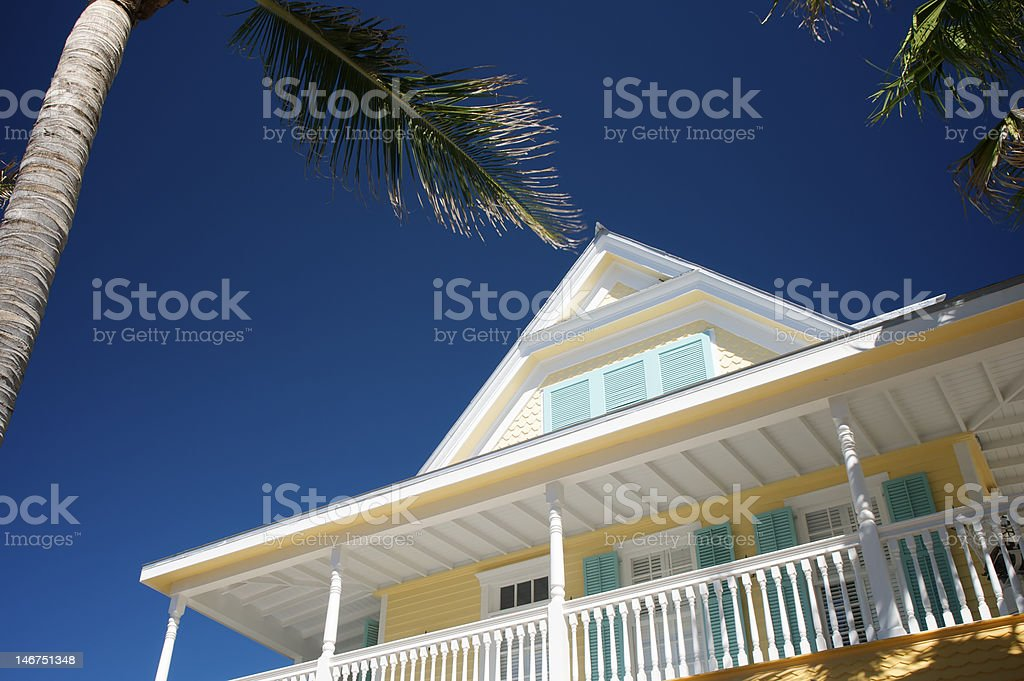 Tropical House stock photo