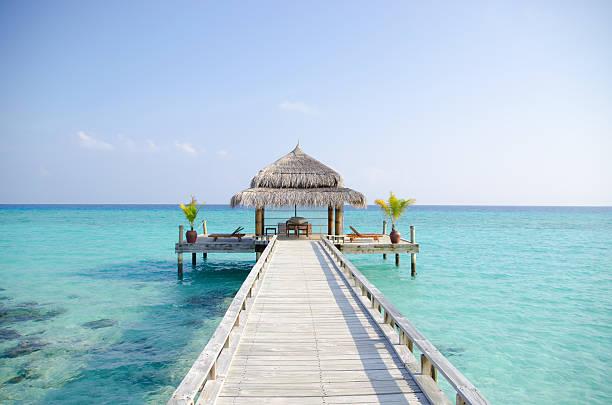 Tropical Island Dream stock photo