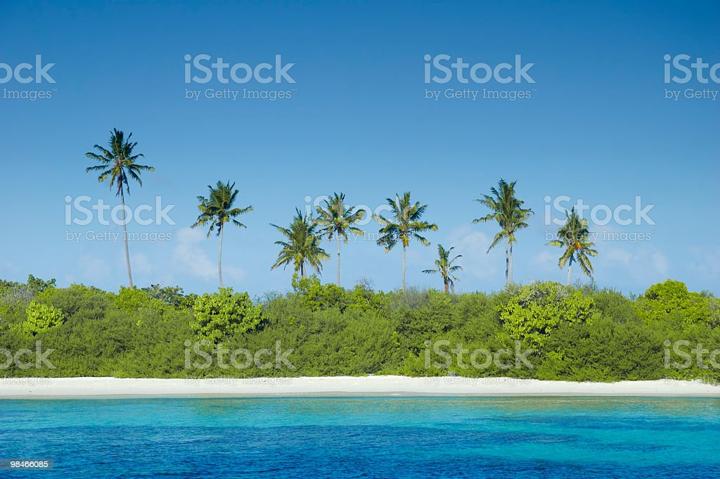 Tropical Island Paradise royalty-free stock photo