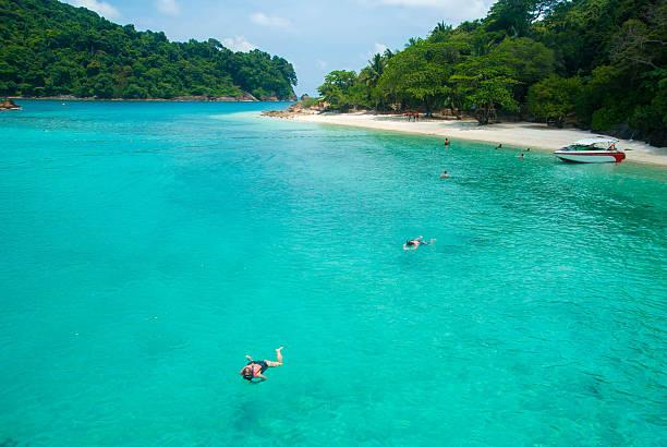 Isola tropicale - foto stock
