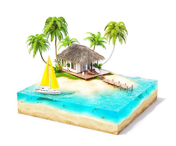 Tropische Insel – Foto