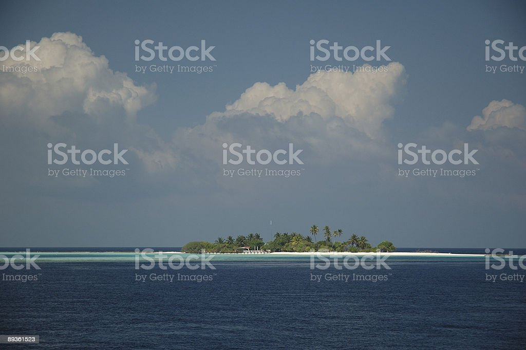 Isola tropicale foto stock royalty-free