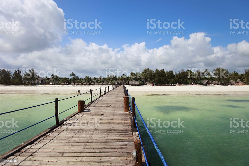 Tropical island royalty free stockfoto