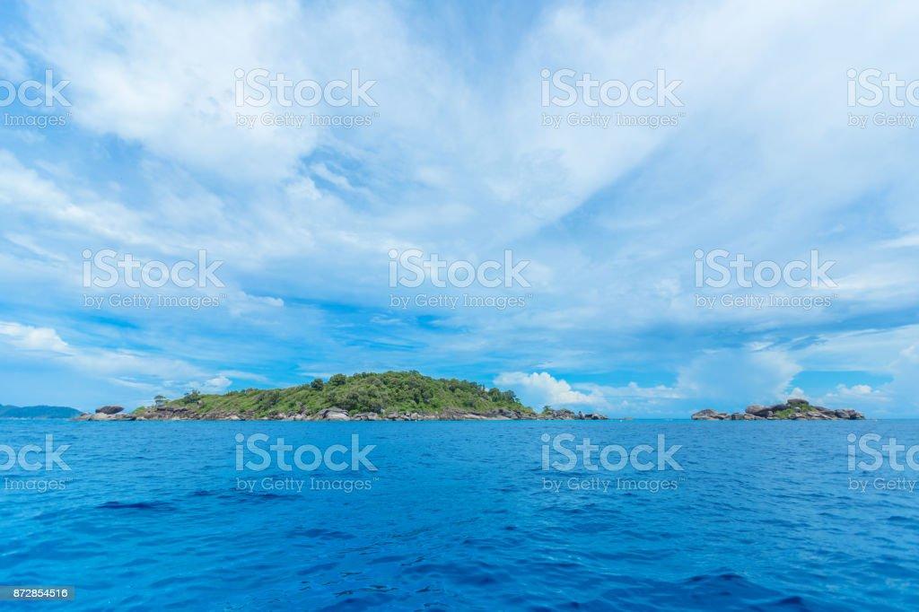 Tropical Islands stock photo