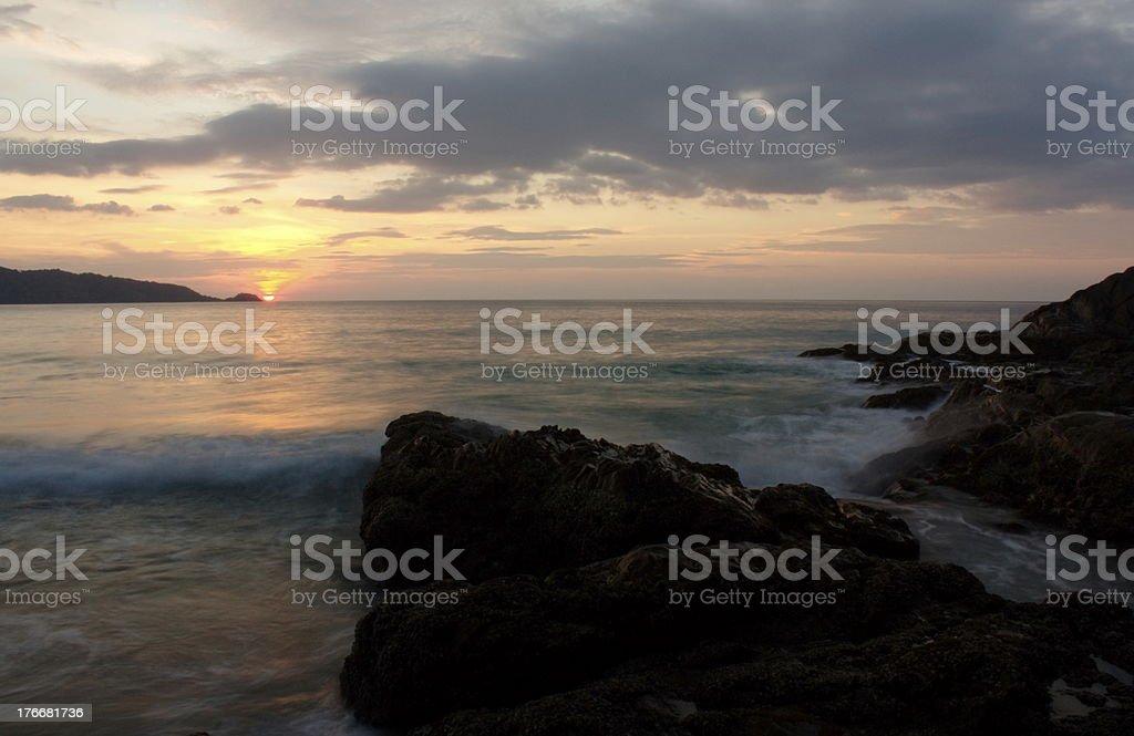Paisaje Tropical foto de stock libre de derechos