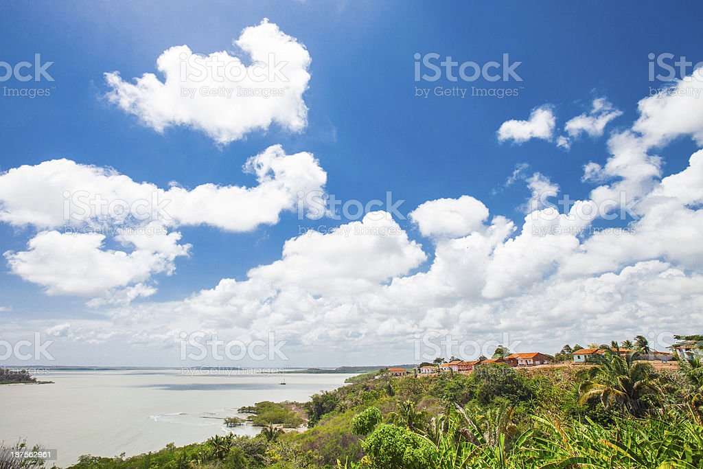 Tropical landscape. stock photo