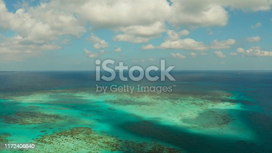 1143575463 istock photo Tropical landscape with lagoons and tropical islands. Balabac, Palawan, Philippines 1172406640