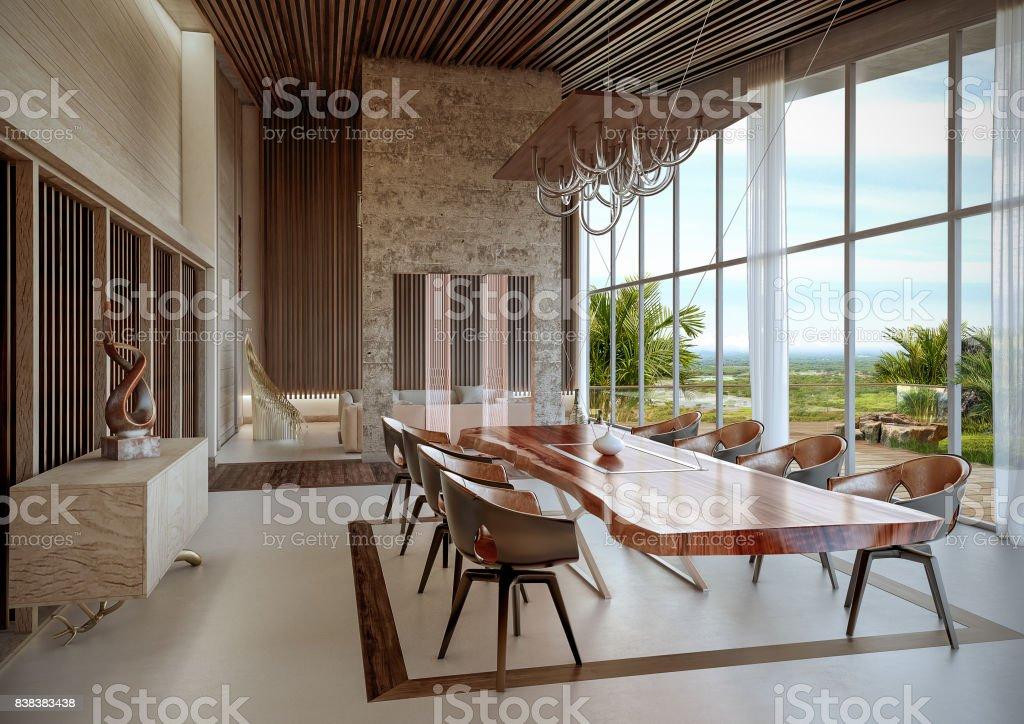 Tropical Luxury stock photo