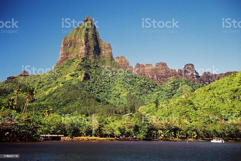 Tropical mountain beauty royalty-free stock photo