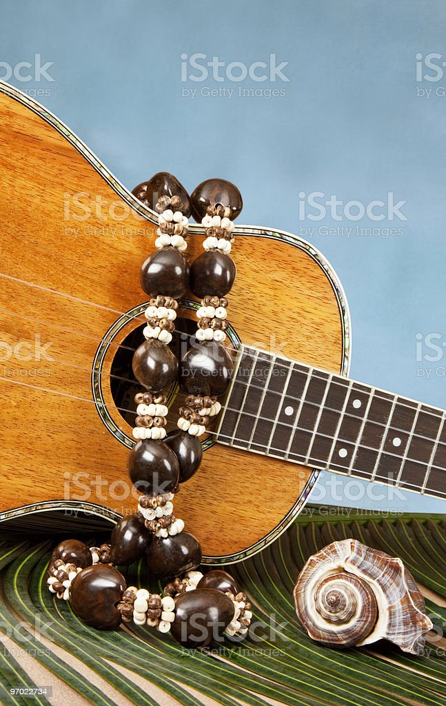 Tropical Music stock photo
