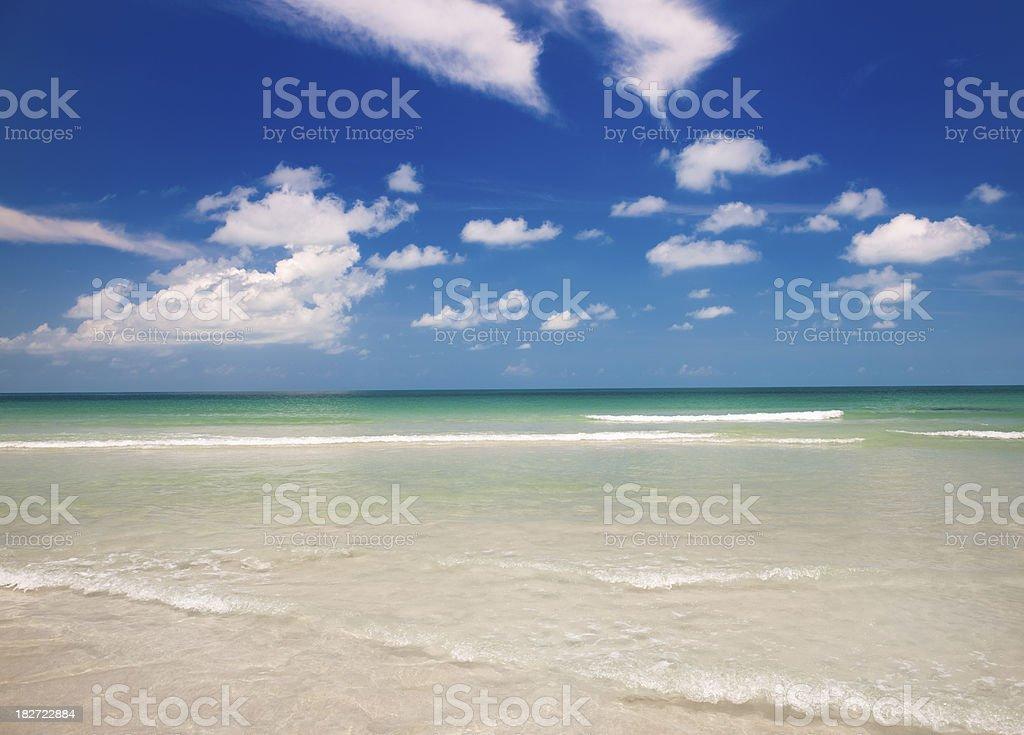 Tropical Paradise Beach (XXXL) royalty-free stock photo