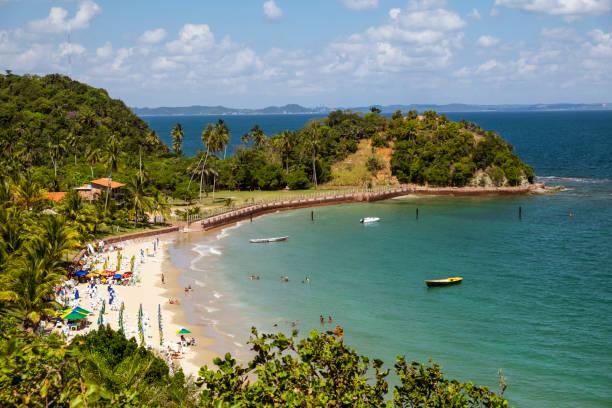 tropical paradise on the island of frades - carlosanchezpereyra fotografías e imágenes de stock