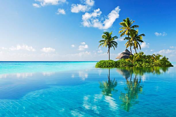 tropical paradies - idylle stock-fotos und bilder