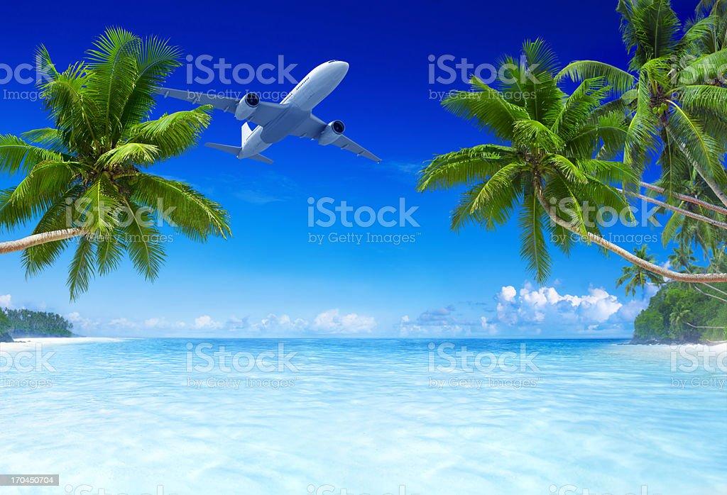 Tropical Paradise royalty-free stock photo
