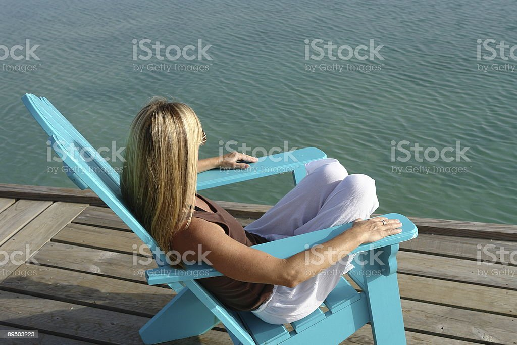 tropical relaxation royalty free stockfoto