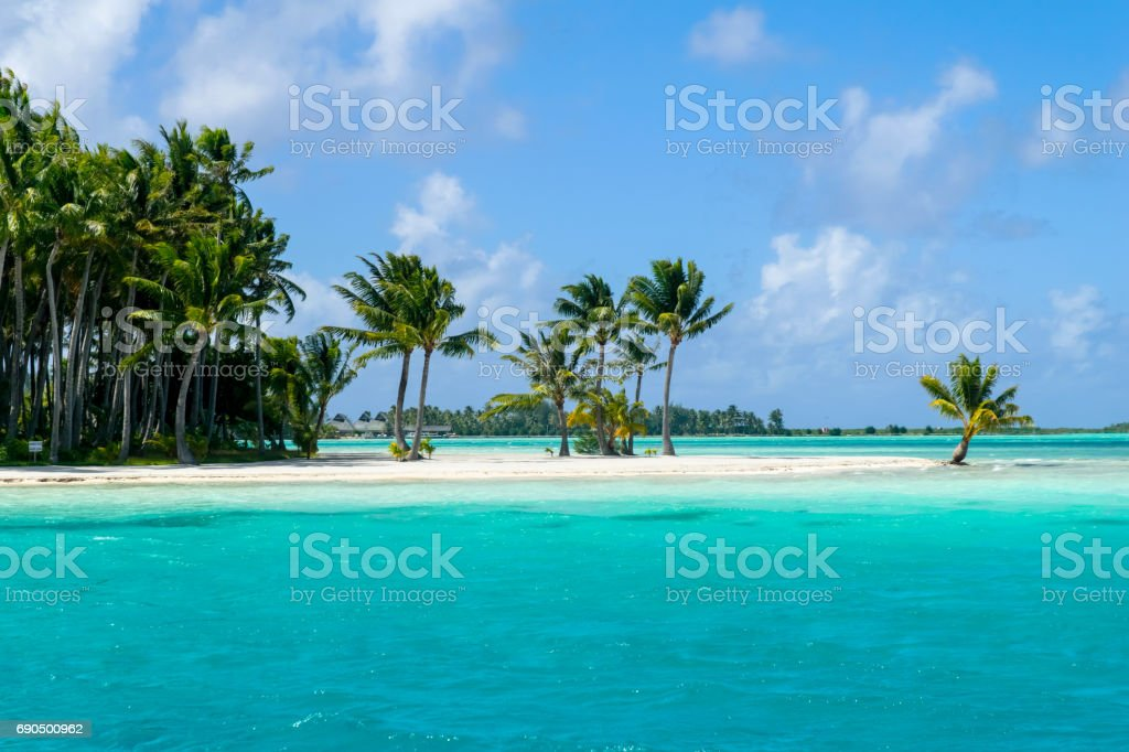 tropical resort bora bora stock photo