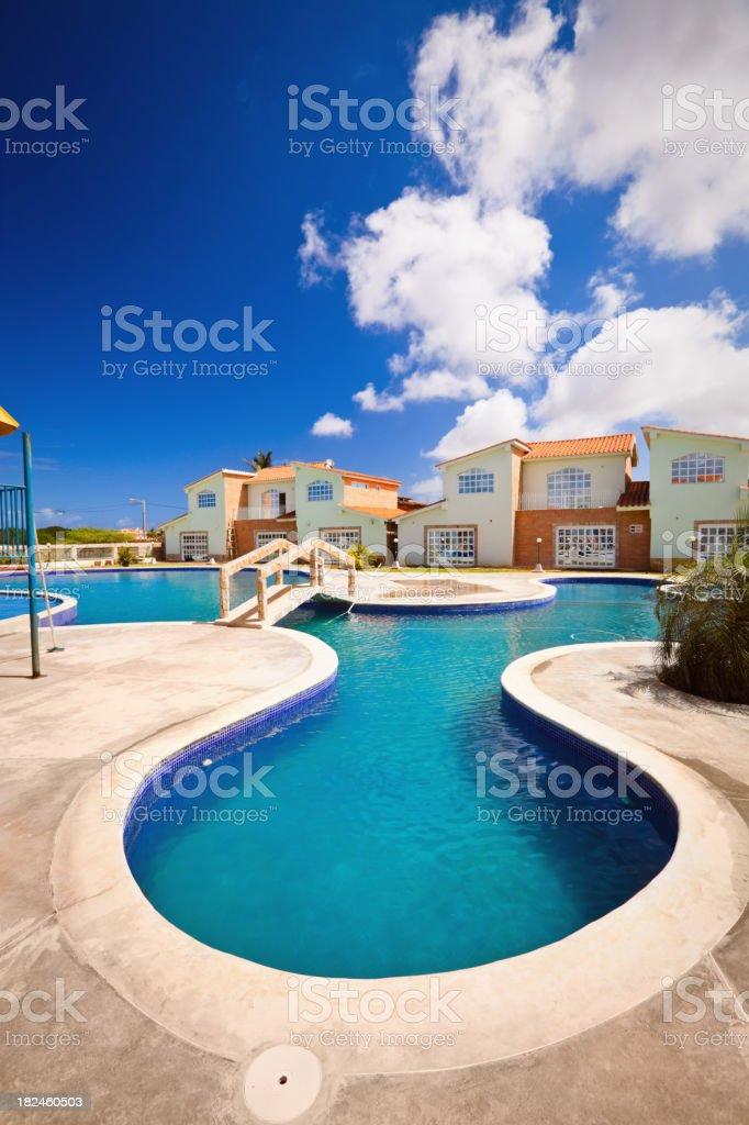 Tropical Resort piscina foto royalty-free